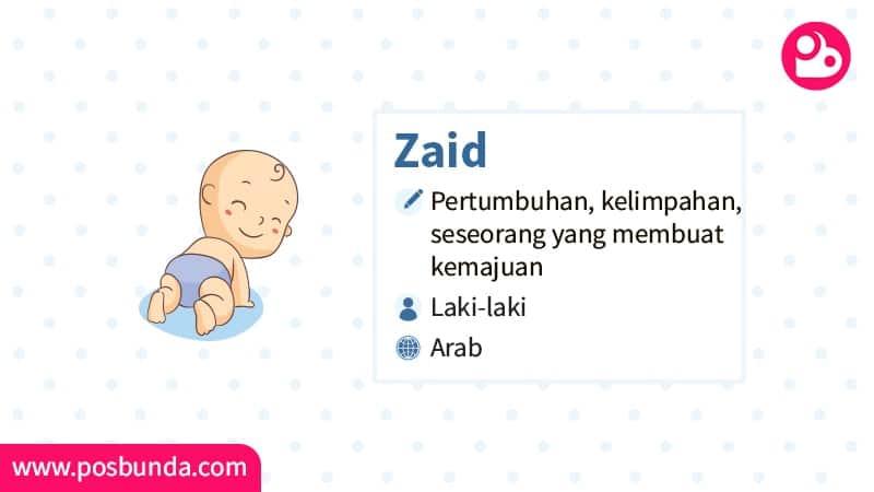 Arti Nama Zaid - Zaid