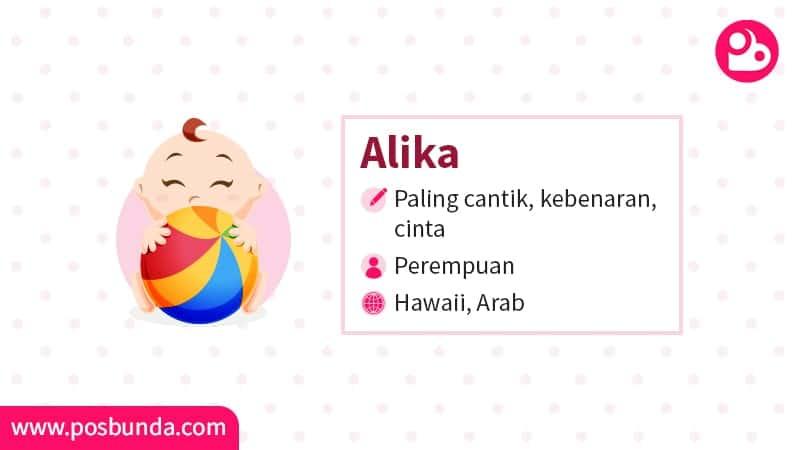 Arti Nama Alika - Alika