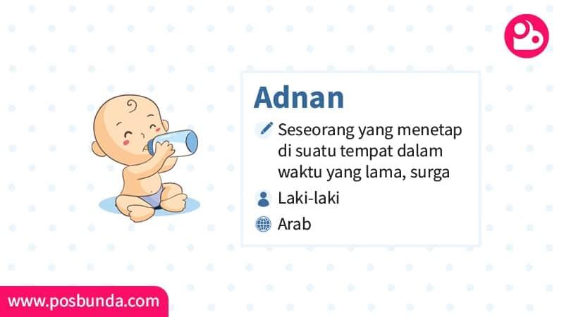 Arti Nama Adnan - Adnan