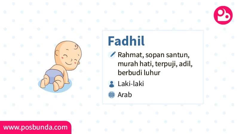 Arti Nama Fadhil - Fadhil