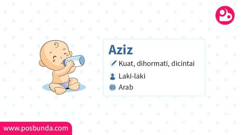 Arti Nama Aziz - Aziz