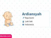 Arti Nama Ardiansyah - Ardiansyah
