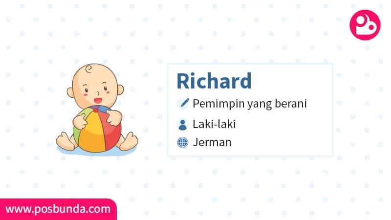 Arti Nama Richard - Richard