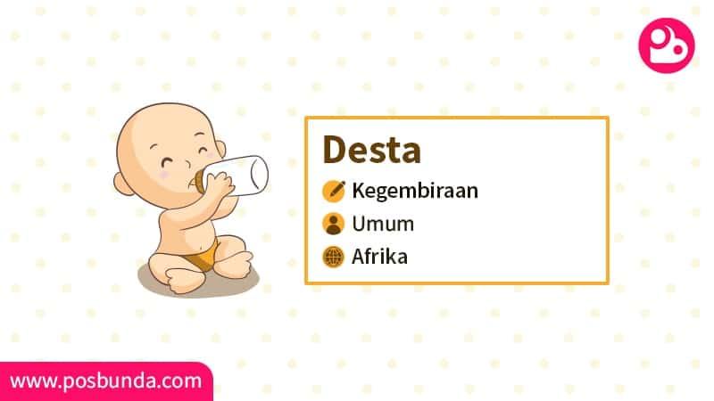 Arti Nama Desta - Desta