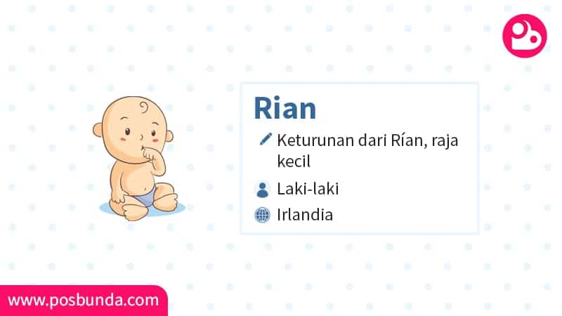 Arti Nama Rian - Rian
