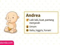 Arti Nama Andrea - Andrea