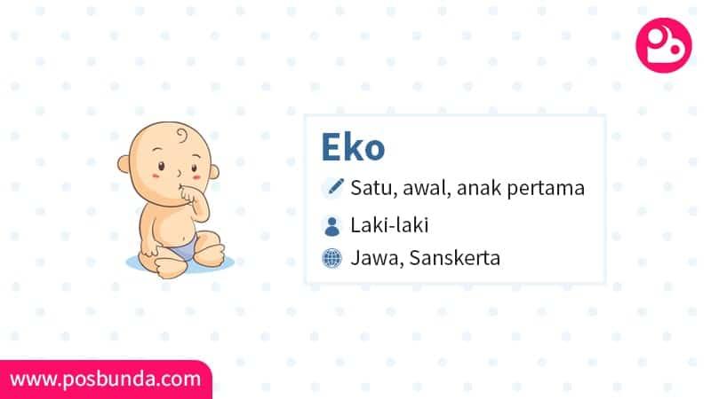 Arti Nama Eko - Eko