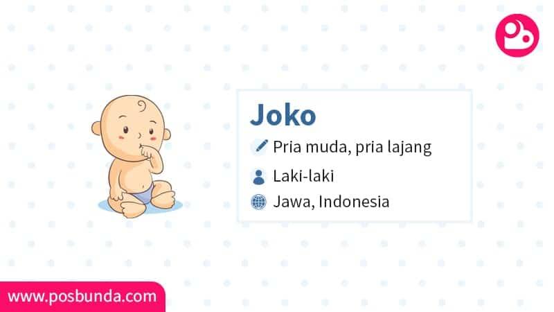 Arti Nama Joko - Joko