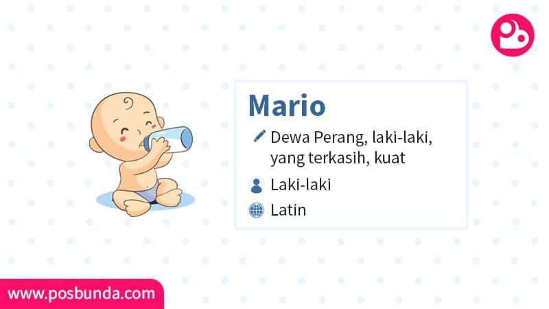 Arti Nama Mario - Mario
