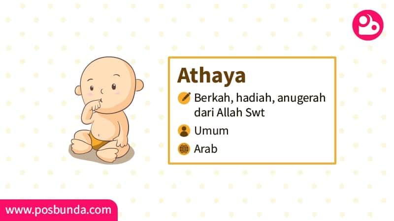 Arti Nama Athaya - Athaya
