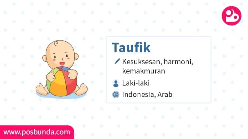 Arti Nama Taufik - Taufik