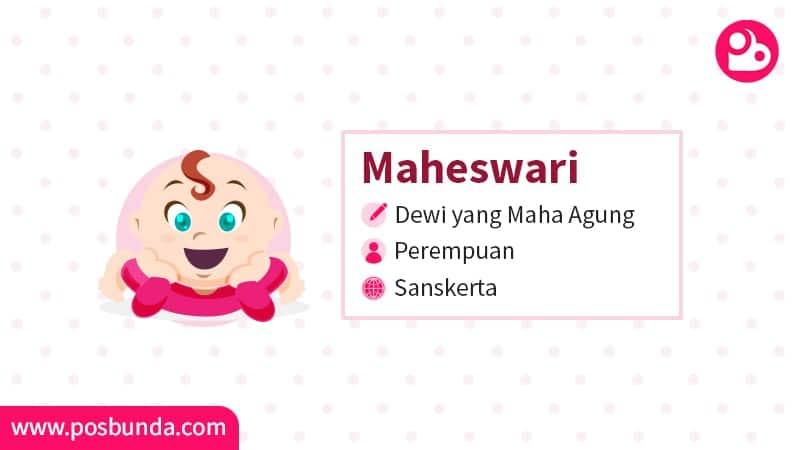 Arti Nama Maheswari - Maheswari