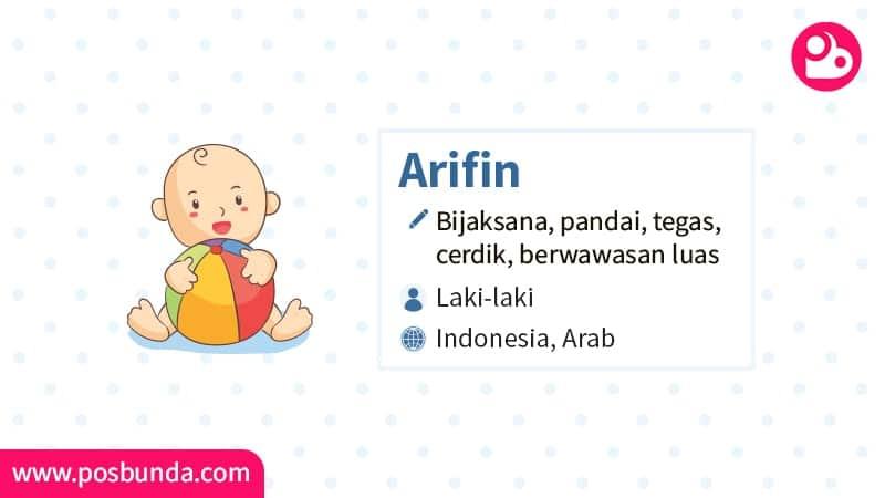 Arti Nama Arifin - Arifin