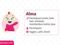 Arti Nama Alma - Alma