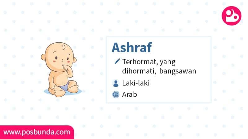 Arti Nama Ashraf - Ashraf