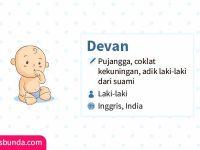 Arti Nama Devan - Devan