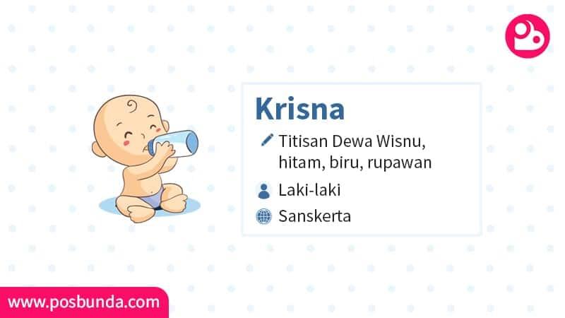 Arti Nama Krisna - Krisna