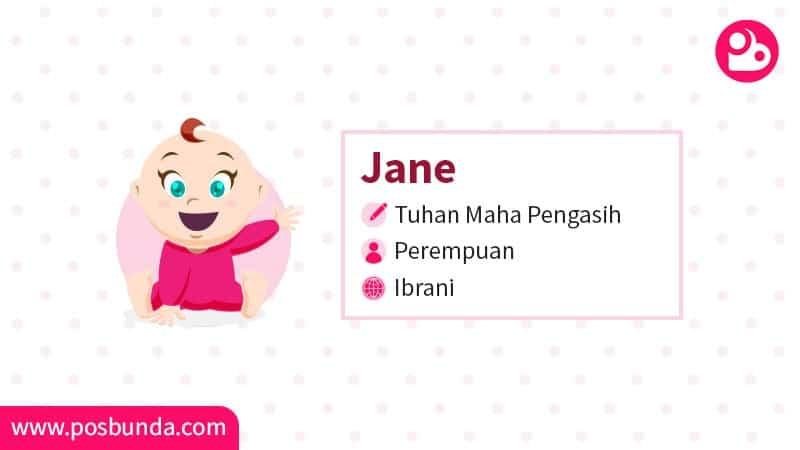 Arti Nama Jane - Jane