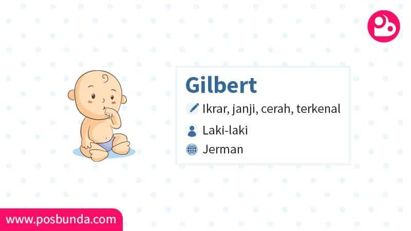 Arti Nama Gilbert - Gilbert