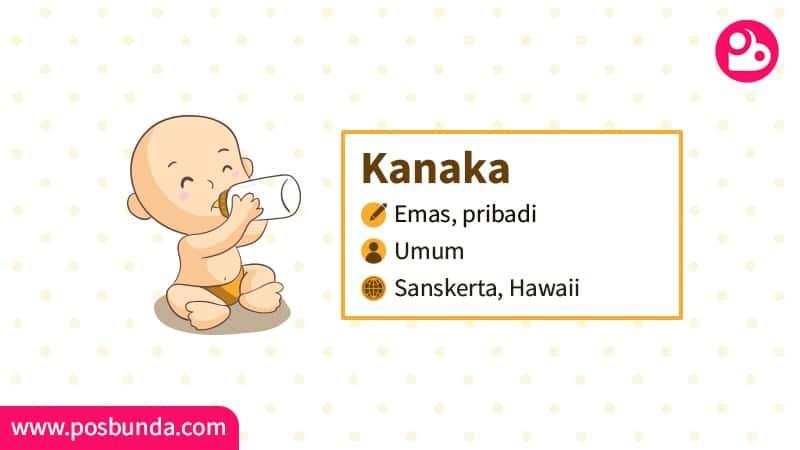 Arti Nama Kanaka - Kanaka