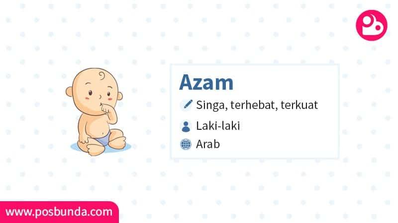 Arti Nama Azam - Azam