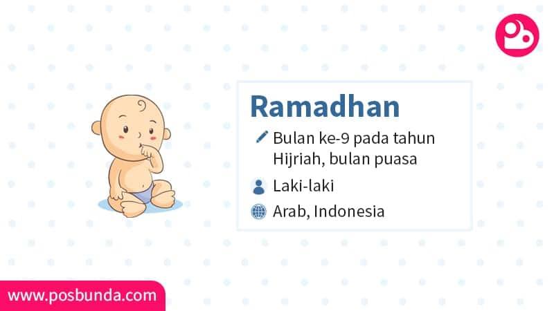 Arti Nama Ramadhan - Ramadhan
