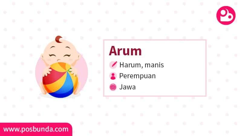 Arti Nama Arum - Arum