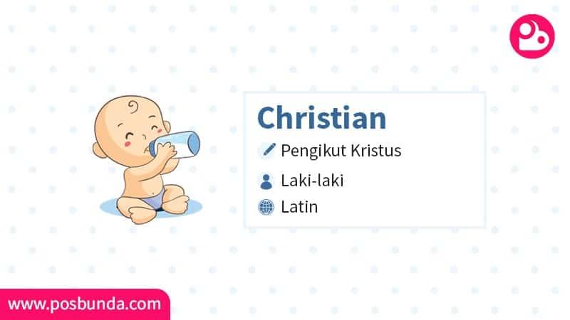 Arti Nama Christian - Christian