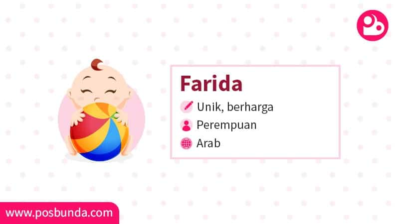 Arti Nama Farida - Farida