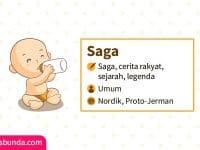 Arti Nama Saga - Saga