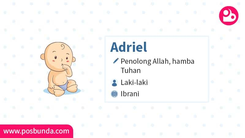 Arti Nama Adriel - Adriel