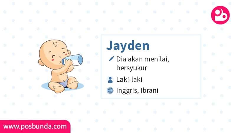 Arti Nama Jayden - Jayden