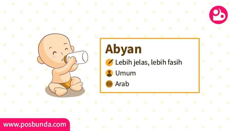 Arti Nama Abyan - Abyan