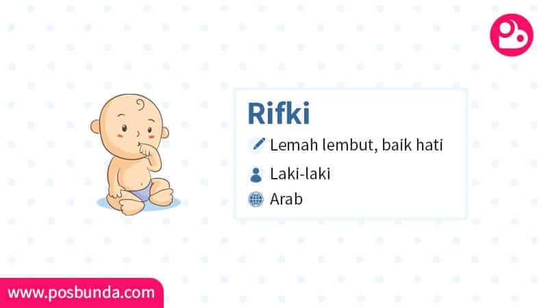 Arti Nama Rifki - Rifki