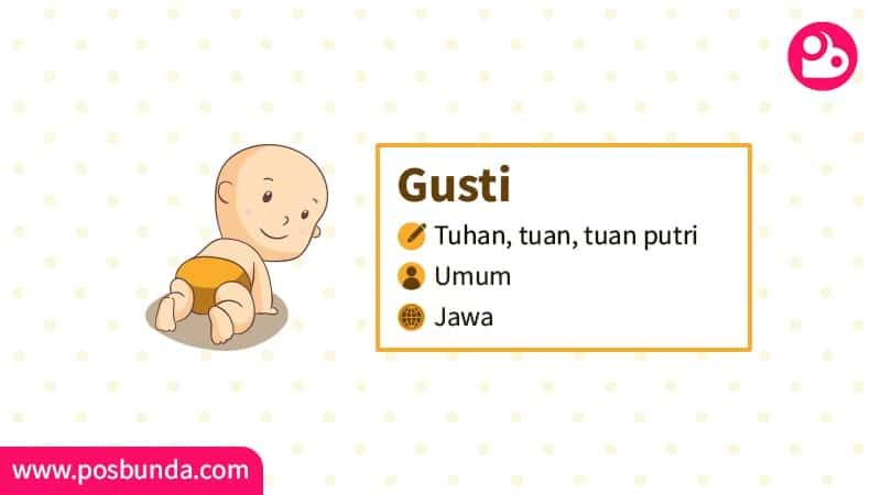 Arti Nama Gusti - Gusti