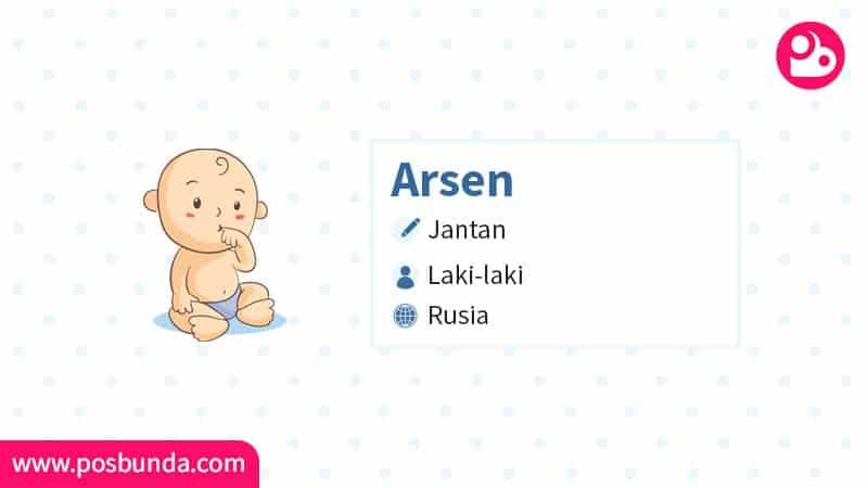 Arti Nama Arsen - Arsen