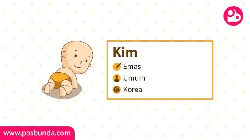 Arti Nama Kim - Kim