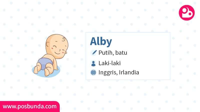 Arti Nama Alby - Alby