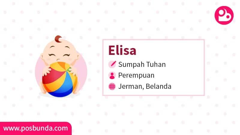 Arti Nama Elisa - Elisa