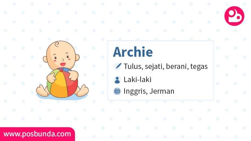 Arti Nama Archie - Archie