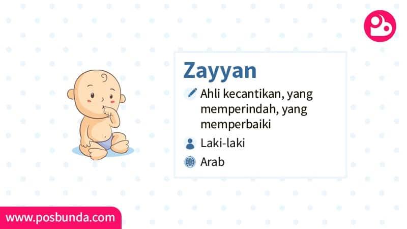 Arti Nama Zayyan - Zayyan