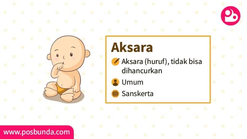 Arti Nama Aksara - Aksara