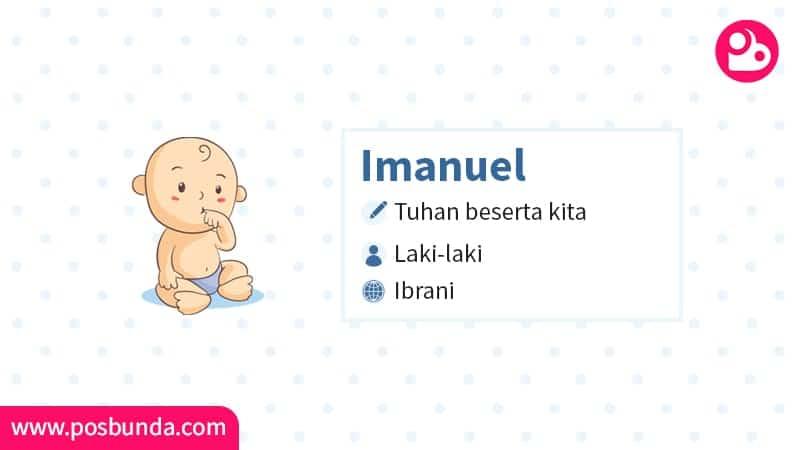 Arti Nama Imanuel - Imanuel