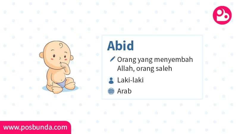 Arti Nama Abid - Abid
