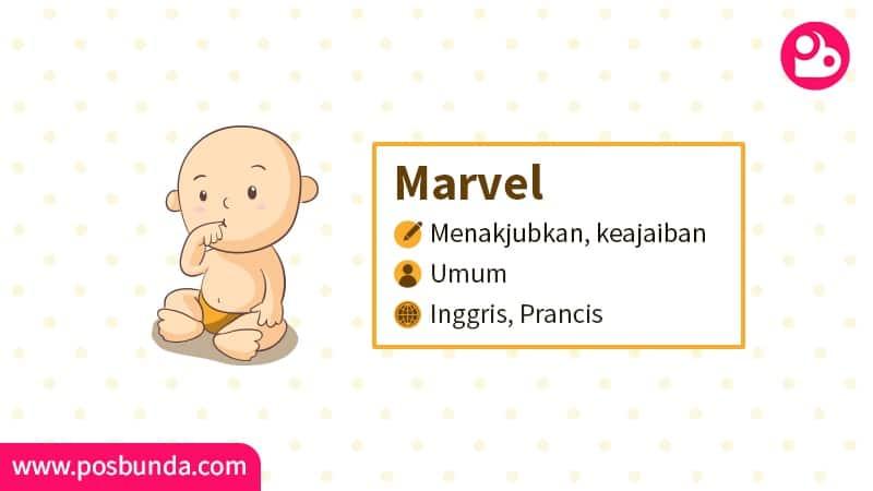 Arti Nama Marvel - Marvel