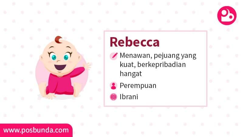 Arti Nama Rebecca - Rebecca