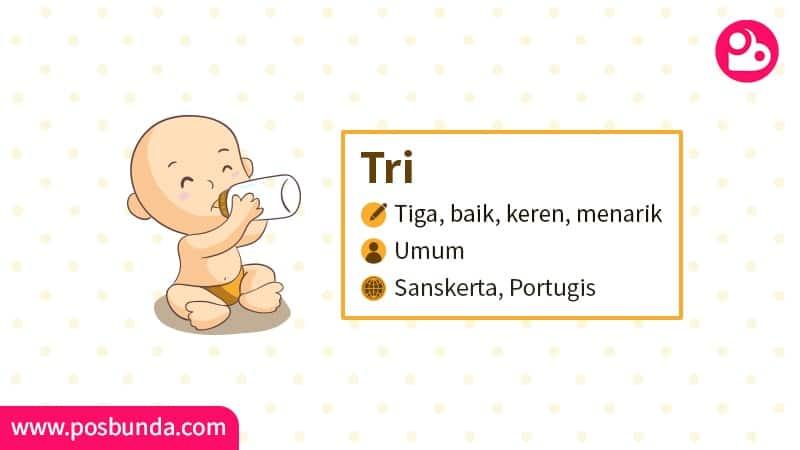 Arti Nama Tri - Tri