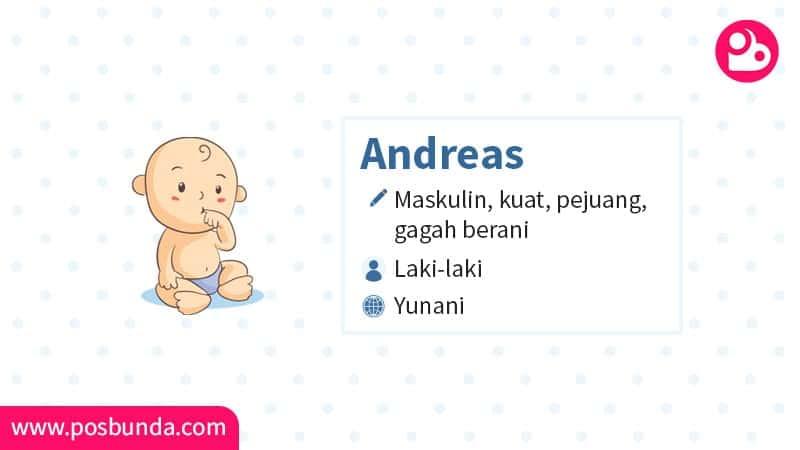 Arti Nama Andreas - Andreas