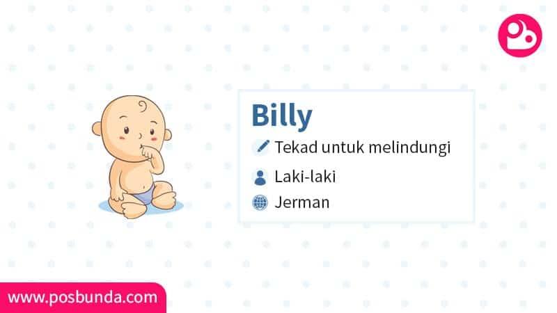 Arti Nama Billy - Billy